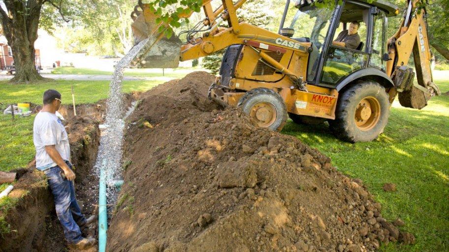 حفر چاه-معین سرویس