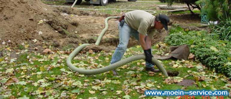تخلیه چاه اصولی و بهداشتی- شرکت معین سرویس