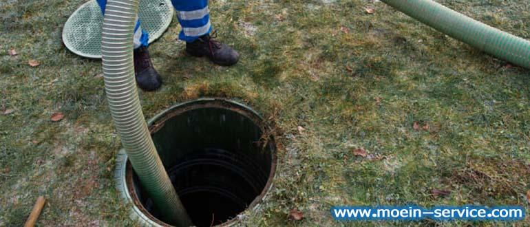 تخلیه چاه اصولی و بهداشتی-معین سرویس 09122108011