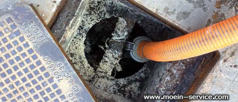 تخلیه چاه با روش پمپ زدن-شرکت معین سرویس