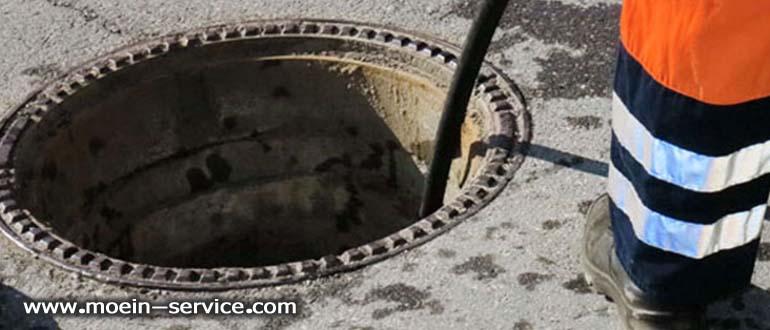 تخلیه چاه با پمپ لجن کش - معین سرویس 09122108011
