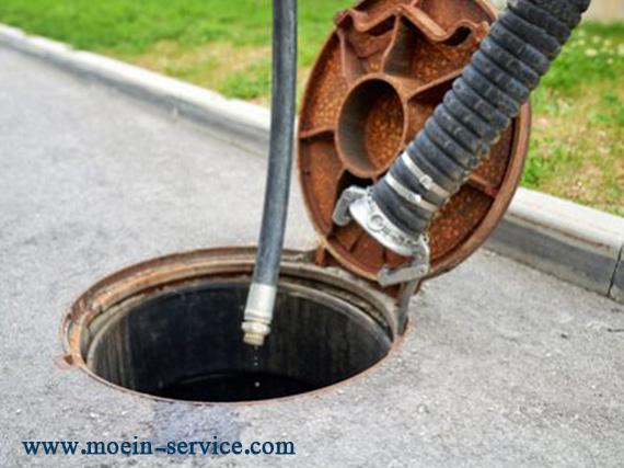 تخلیه چاه مکانیزه - معین سرویس